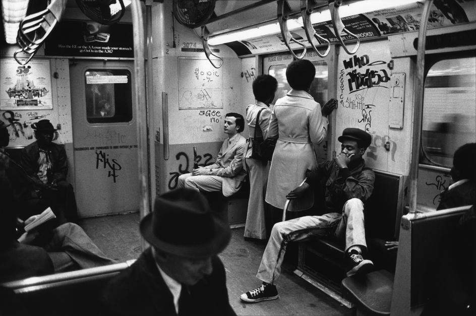 Photo:  1973 - Subway Train Interior