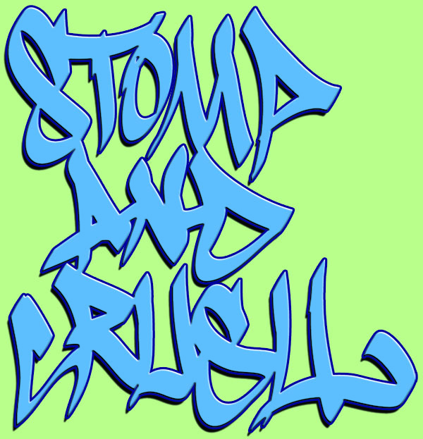 Wordmark Image:  Stomp and Crush