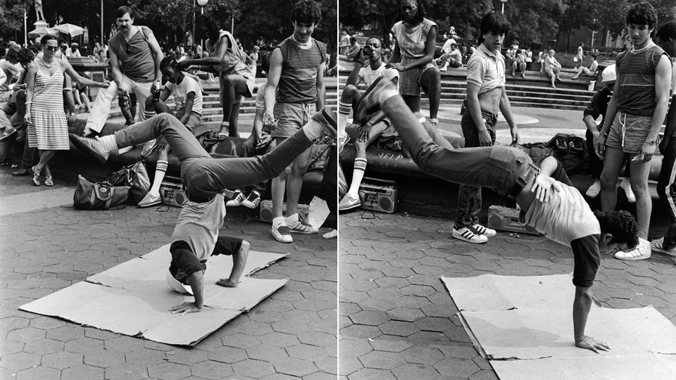Photo:  Headsping and Handstand in the Park