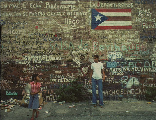 Photo: Writing on the Wall en el Barrio