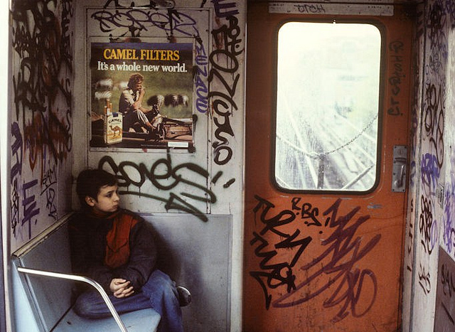 Photo: 1980s NYC Subway Graffiti