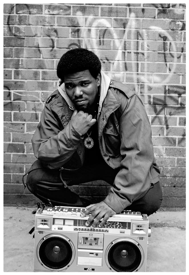 Photo:  Afrika Bambaataa by Janette Beckman