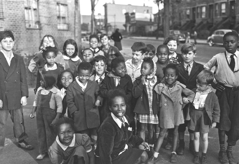 Photo:  Kingsborough Housing Project, Brooklyn, NY, 1940s, by Joe Schwartz