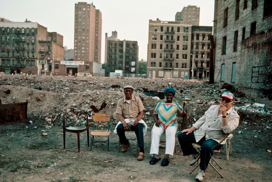 Photo:  Harlem, NY, 1983 by Thomas Hoepker